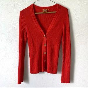 Tory Burch Red Cardigan/sweater